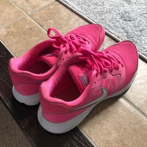 Nike Shoes - Hot Pink Nike Gym Shoes